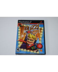 Buzz The Mega Quiz Playstation 2 PS2 Video Game New Sealed