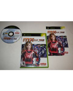 MX World Tour Featuring Jamie Little Microsoft Xbox Video Game Complete
