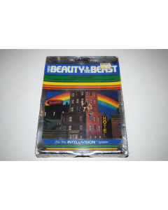 Beauty & The Beast Intellivision Video Game New in Shrinkwrapped Box