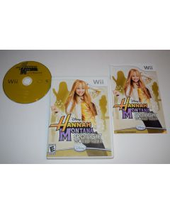 Hannah Montana Spotlight World Tour Nintendo Wii Video Game Complete