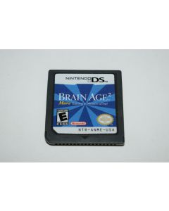 Brain Age 2 Nintendo DS Video Game Cart Only