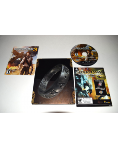 Uncharted 3 Drakes Deception Collector's Edition Playstation 3 PS3 Game Complete