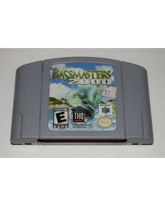 BassMasters 2000 GRAY Nintendo 64 N64 Video Game Cart