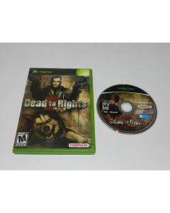 Dead to Rights II Microsoft Xbox Game Disc w/ Case