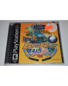Pro Pinball Big Race USA Playstation PS1 Video Game New Sealed