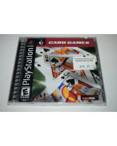 Card Games Playstation PS1 Video Game New Sealed
