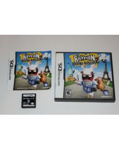 Rayman Raving Rabbids 2 Nintendo DS Video Game Complete