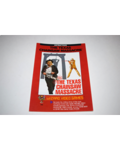 Texas Chainsaw Massacre Atari 2600 Video Game Manual Only