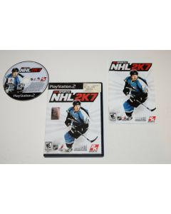 NHL 2K7 Playstation 2 PS2 Video Game Complete