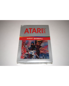 RealSports Baseball Atari 2600 Video Game New in Box
