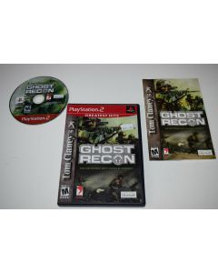 Ghost Recon Greatest Hits Playstation 2 PS2 Video Game Complete
