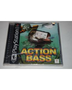 Action Bass Playstation PS1 Video Game New Sealed