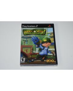 Army Men Soldiers of Misfortune Playstation 2 PS2 Video Game New Sealed