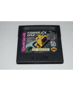 F1 Formula One Sega Game Gear Video Game Cart