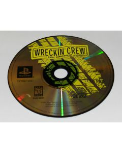 Wreckin Crew Playstation PS1 Video Game Disc Only