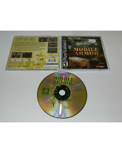 Mobile Armor Playstation PS1 Video Game Complete