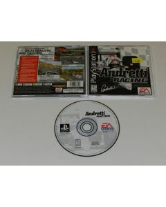 Andretti Racing Playstation PS1 Video Game Complete