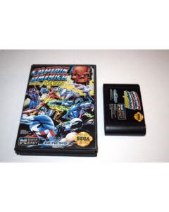 Captain America and the Avengers Sega Genesis Video Game Cart w/ Box Only