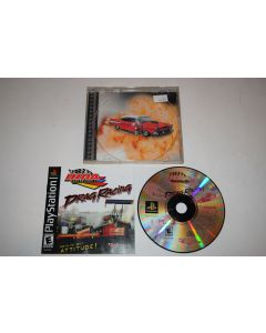 IHRA Drag Racing Playstation PS1 Video Game Complete