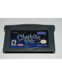 Charlotte's Web Nintendo Game Boy Advance Video Game Cart
