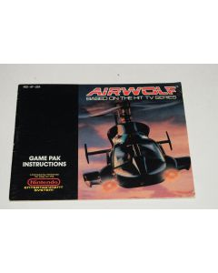 Airwolf Nintendo NES Video Game Manual Only