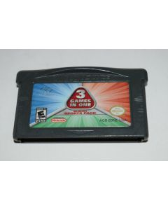 3-in-1 Sports Pack Nintendo Game Boy Advance Video Game Cart