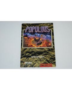 Populous Super Nintendo SNES Video Game Manual Only