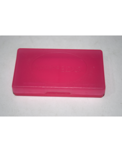 Game Cart Storage Case Pink for Nintendo DS Handheld Video Game System