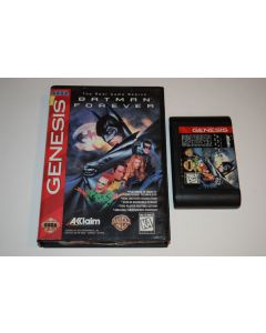 Batman Forever Sega Genesis Video Game Cart w/ Box Only