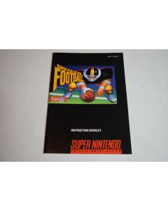 Super Play Action Football Super Nintendo SNES Video Game Manual Only