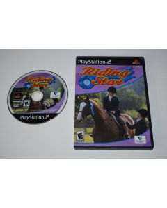 Riding StarPlaystation 2 PS2 Game Disc w/ Case