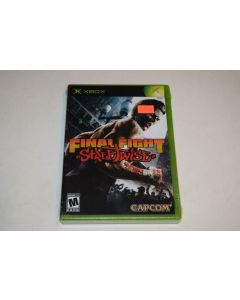 Final Fight Streetwise Microsoft Xbox Video Game New Sealed