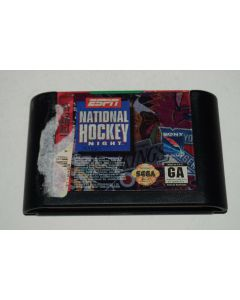 ESPN National Hockey Night Sega Genesis Video Game Cart