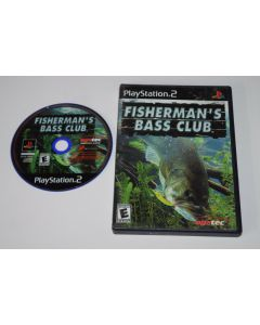 Fishermans Bass Club Playstation 2 PS2 Game Disc w/ Case