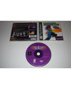 Johnny Bazookatone Playstation PS1 Video Game Complete