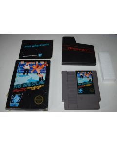 Pro Wrestling 5 Screw Nintendo NES Video Game Complete in Box