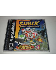 Cubix Robots for Everyone Race N Robots Playstation PS1 Video Game New Sealed