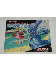 Cyberstadium Series Base Wars Nintendo NES Video Game Manual Only