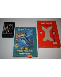 F-15 Strike Eagle II Sega Genesis Video Game Cart w/ Box Only