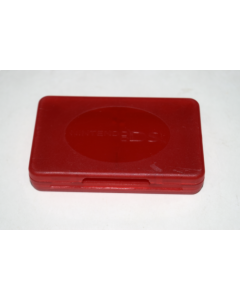 Game Cart Storage Case 4-in-1 Red for Nintendo DS Handheld Video Game System