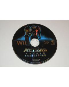 Metroid Prime 3 Corruption Nintendo Wii Video Game Disc Only