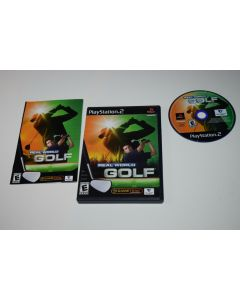 Real World Golf Playstation 2 PS2 Video Game Complete