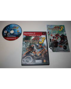 ATV Offroad Fury 3 Greatest Hits Playstation 2 PS2 Video Game Complete