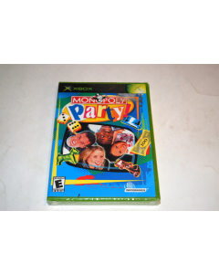 Monopoly Party Microsoft Xbox Video Game New Sealed