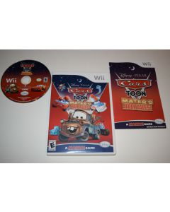 Cars Toon Mater's Tall Tales Nintendo Wii Video Game Complete