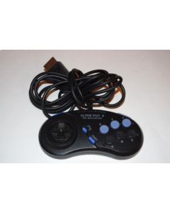 Super Pad 8 Controller by Performance for Sega Saturn Console Video Game System