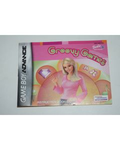 Barbie Groovy Games Nintendo Game Boy Advance Video Game Manual Only