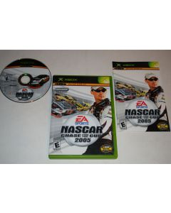 NASCAR 2005 Chase for the Cup Microsoft Xbox Video Game Complete