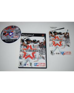 All-Star Baseball 2002 Playstation 2 PS2 Video Game Complete