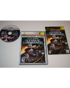 Star Wars Republic Commando Platinum Hits Version Xbox Video Game Complete
